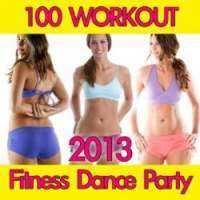100 Workout Fitness Dance Party albüm kapak resmi